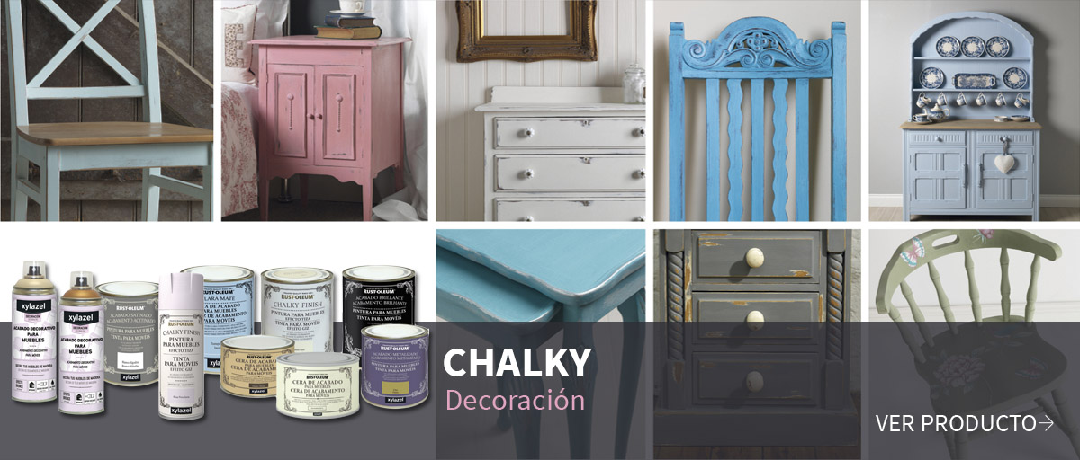 Chalky - Decoración