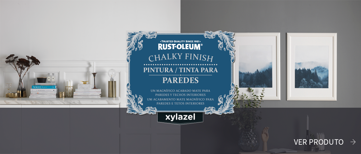 Rust-Oleum Chalky Finish Tinta para Paredes Xylazel