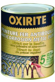Oxirite Smooth Metallic