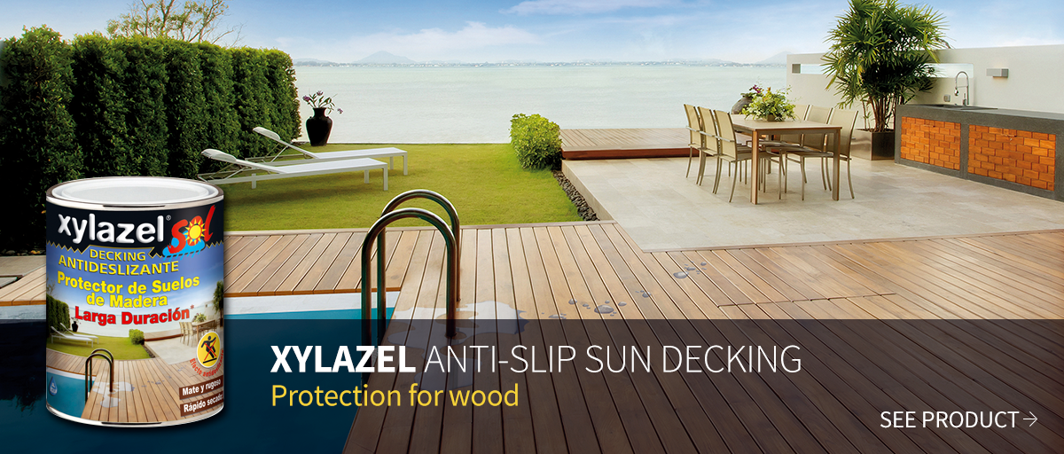 Xylazel Anti-Slip Sun Decking