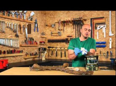 Embedded thumbnail for How to restore a wooden bench with wrought iron legs